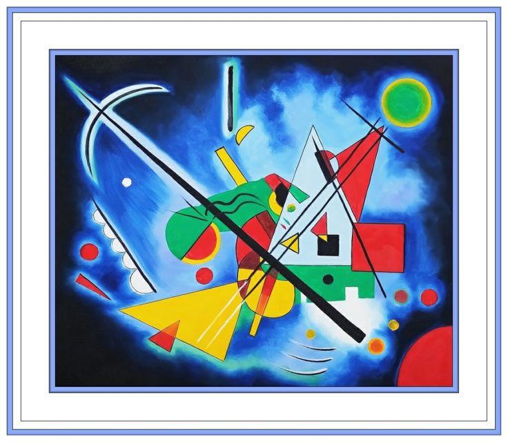 Wassily #Kandinsky #art #Russian #paintings #geometric # ...