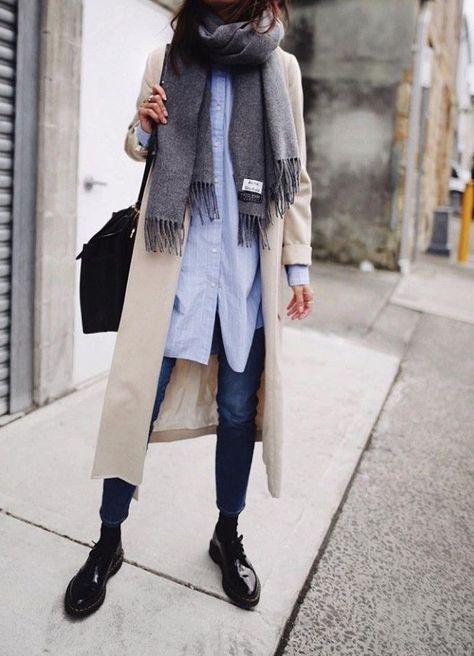 Remark porter un trench-coat à 40 ans