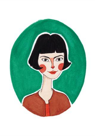 Amelie Poulain · Studio helloluizaillustrations · Posters · R$75,00