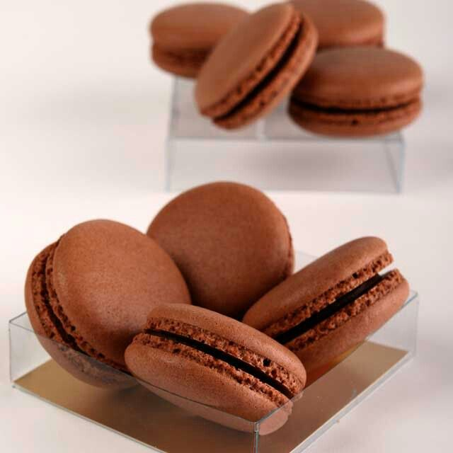 """The word """"macaron"""" comes from the Italian word """"macaroni"""" or """"maccherone"""". According to """"Les Origines de la Langue Francaise"""", it is defined as """"a pasta dish with cheese'"""". #tulipchocolate #macarons"""