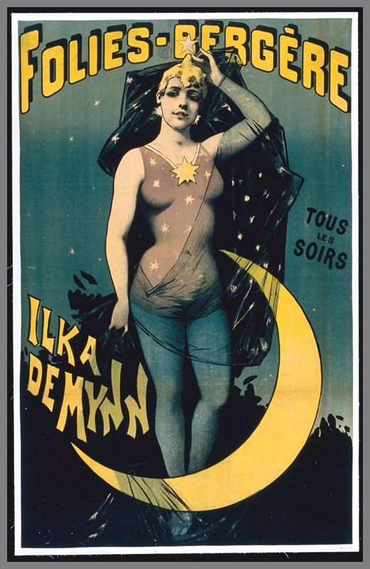 27 old posters of cabarets and circuses circus cabaret posters