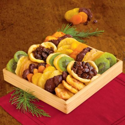 Gourmet Fruit Tray | Dried Fruits & Nuts Gift Baskets | Harry & David