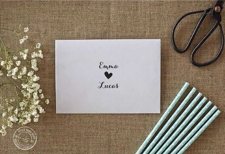 Hochzeit Stempel  von Brandy W. auf DaWanda.com