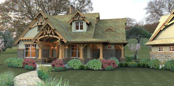 Merveille Vivante House Plan - 2259: Floors Plans, Dreams Houses, Style, Rustic Home Exterior, Rustic Looks, Storybook Houses, Rustic Cottages, Houses Plans, House Plans