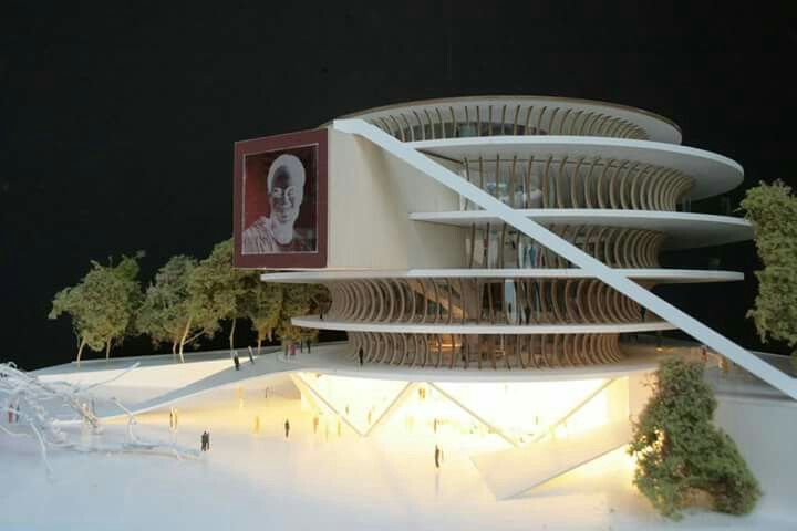 Kwame Nkrumah Presidential Library by Mario Cucinella Architects