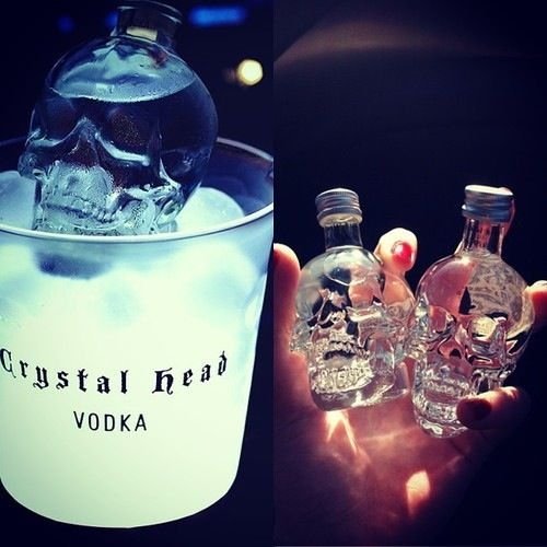 Vodka.Crystalhead, Skull Vodka, Head Vodka, Crystals Head, Crystals Skull, Food, Crystal Skull, Bottle, Drinks Alcohol