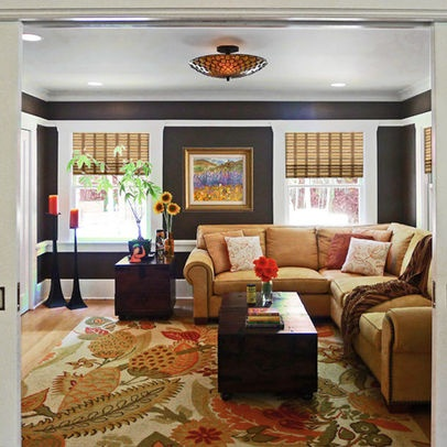 Camel Colored Couch Dream House Pinterest Family Room And Traditional Rooms