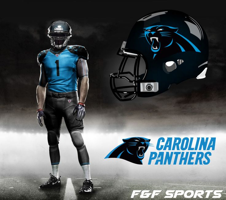 NFL Jerseys Sale - Carolina New Panther NFL Uniforms | Nike Pro Combat - Carolina ...