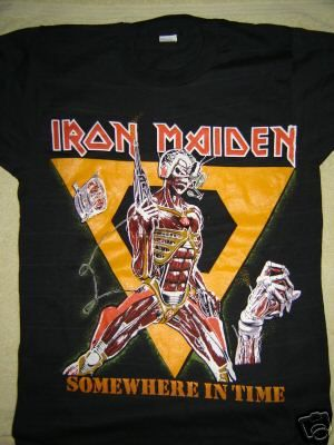 Vintage Concert T Shirt Iron Maiden 88 Never Worn Never Washed | eBay