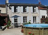 Holiday Home in Vouvant, Vendee, Pays de la Loire. Book direct with private owner. FR7959 €630 no indication of availability