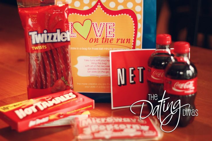 """Date Night in a Bag"" - ideas for date night!"