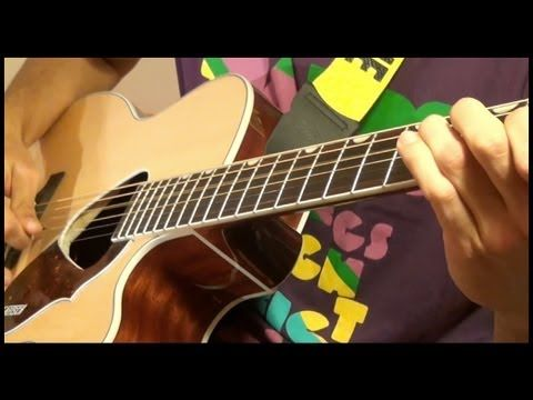 GUITAR BOOGIE on acoustic guitar and bass guitar played by Davie