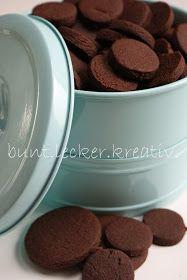 bunt.lecker.kreativ: Schokoladen Kekse mit Rezept