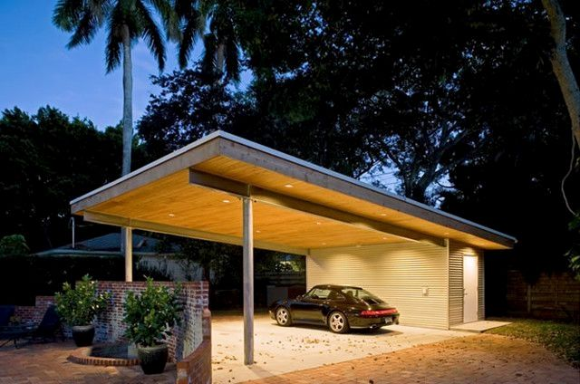 Luxury Garage Click The Pic For Lots Of Garage Lighting Ideas Garage Shoplighting Carport Designs Carport Carport Sheds