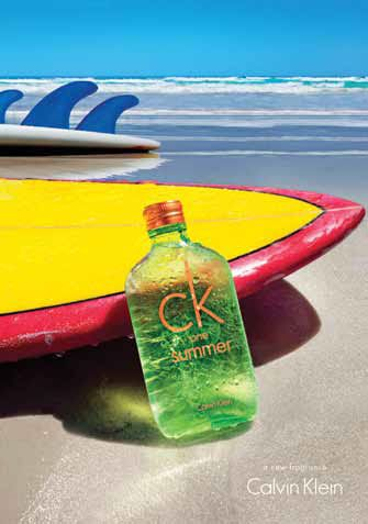 "CK One Summer 2012. MUST HAVE. The bottle is freaking amazing. And it appears the main accord for this version is ""watery"" I'm loving it already =D"