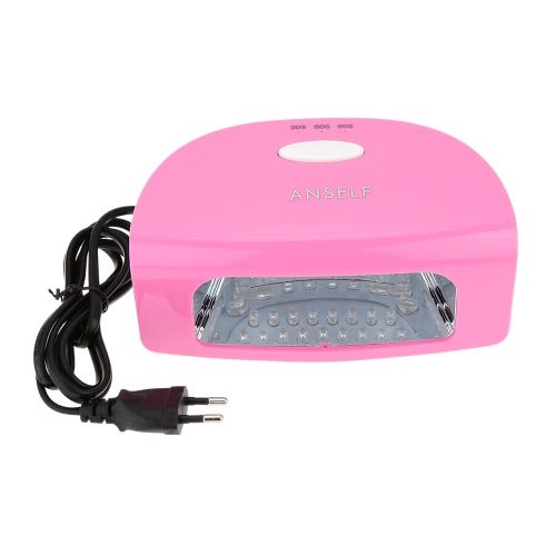 100-240V 9W Led Nail Lamp Automatic Open for UV Gel Nail Polish Salon Nail Dryer Curing Lamp Machine Nail Art Tool Everlasting