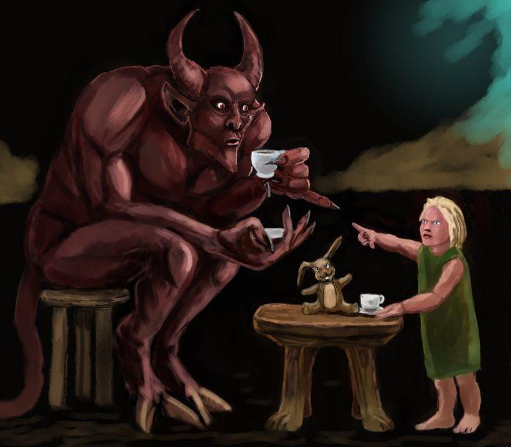 Дьяволы прикольные картинки, меня