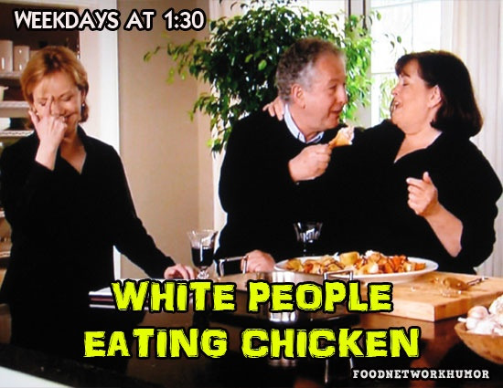 Food Network Humor » IN A NUTSHELL: Food Network's Afternoon Programming
