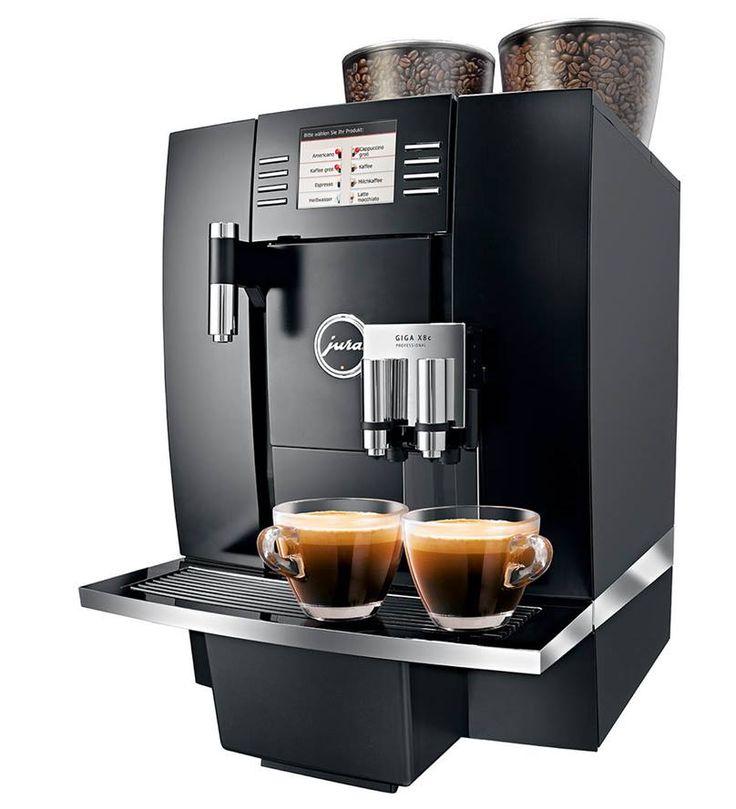 Profesjonalny i wyjątkowo wydajny ekspres do kawy GIGA X8c Professional firmy Jura wykorzystywany w restauracjach, hotelach i pensjonatach.