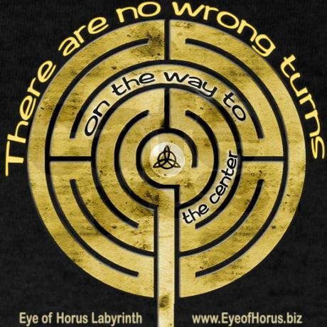 The thing about #labyrinths (and life) is, there are no wrong turns on the way to the center.