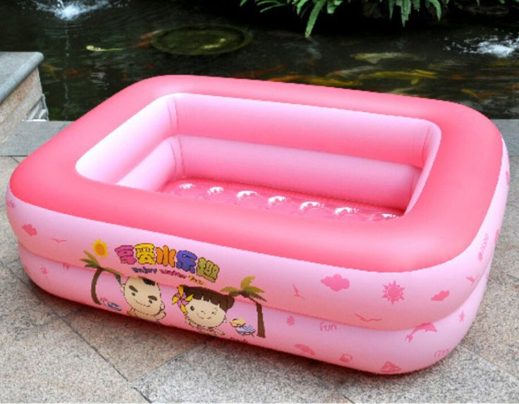 Portable Kids Pink Float Pool Baby Piscina Pink Plastic Inflatale Pool Baby piscine gonflable Kinder Schwimmbad Swimming Pool