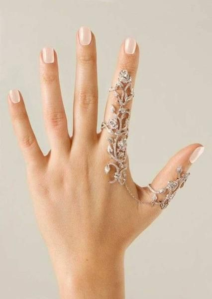 Amazingly Gorgeous Flower Crystal Stacking Rings   – wedding ideals
