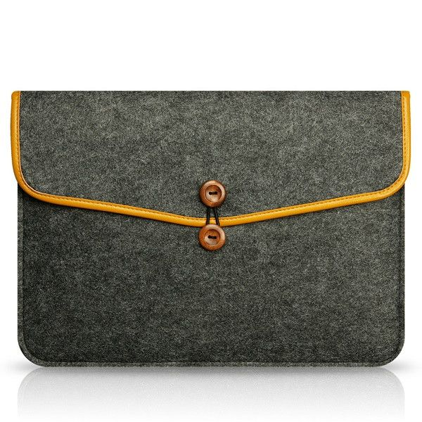 "High Quality Notebook Laptop Wool Felt Sleeve Bag for Macbook Air 11.6"" Protective Case Computer Bag Laptop Bag Liner Bag"