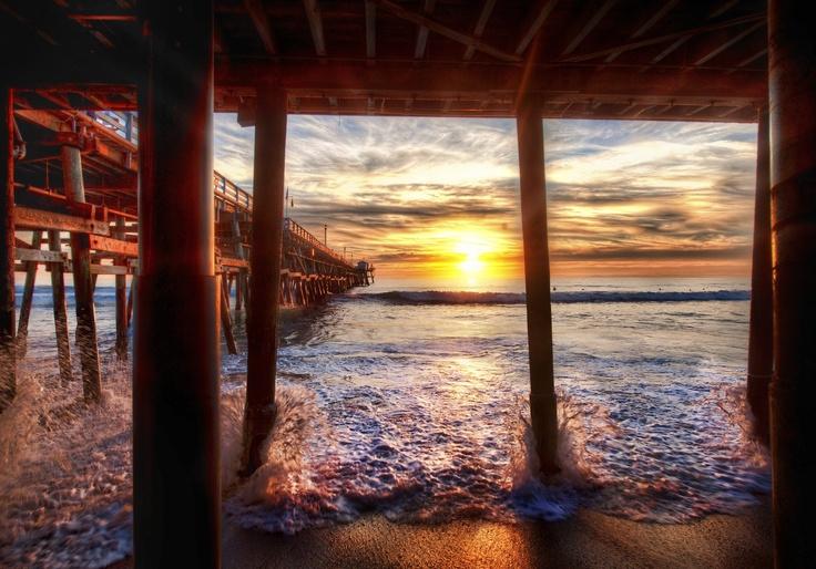 Under dock california