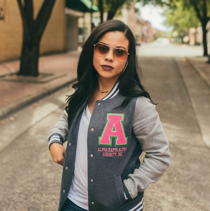 Vintage Varsity Jacket | Fashionably Greek