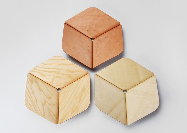 Poly hexagonal bowls by Martin Zampach