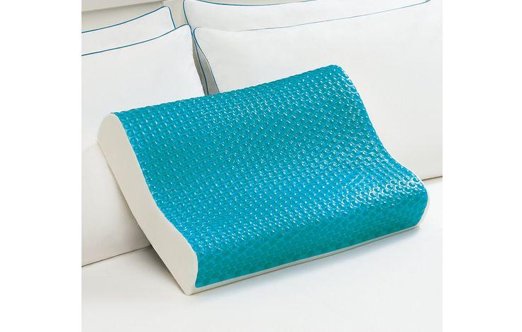 Comfort Revolution Memory Foam Contour Pillow https://www.womenshealthmag.com/health/cooling-pillows/slide/5