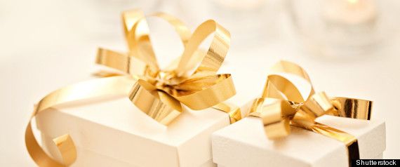 It is perhaps the most controversial wedding gift of our time: a basket of food presented to two brides that went so horribly awry, it spawned a text and Facebook messaging war that got published in a local newspaper and has to be seen to be believed.