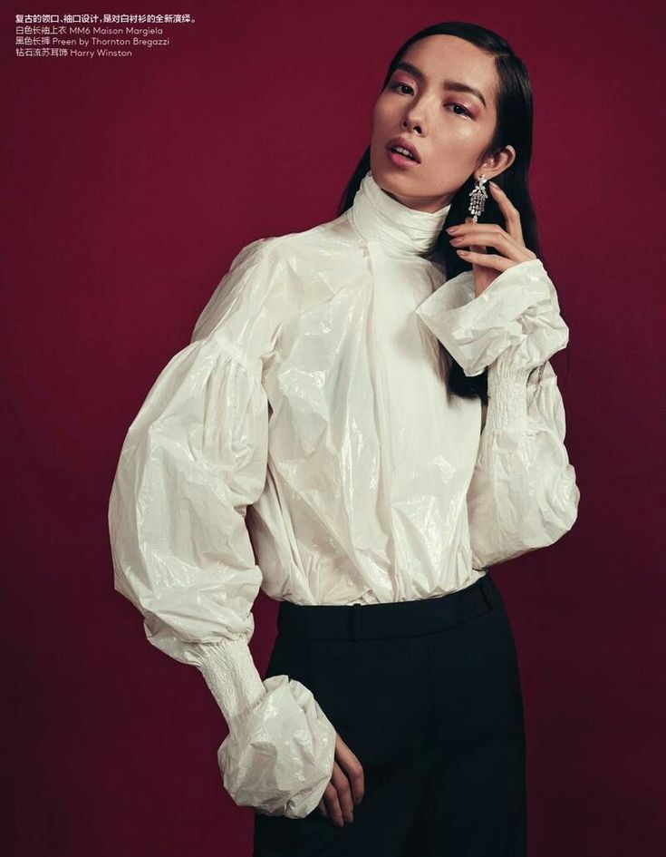Fei Fei Sun - Vogue China Return To Form