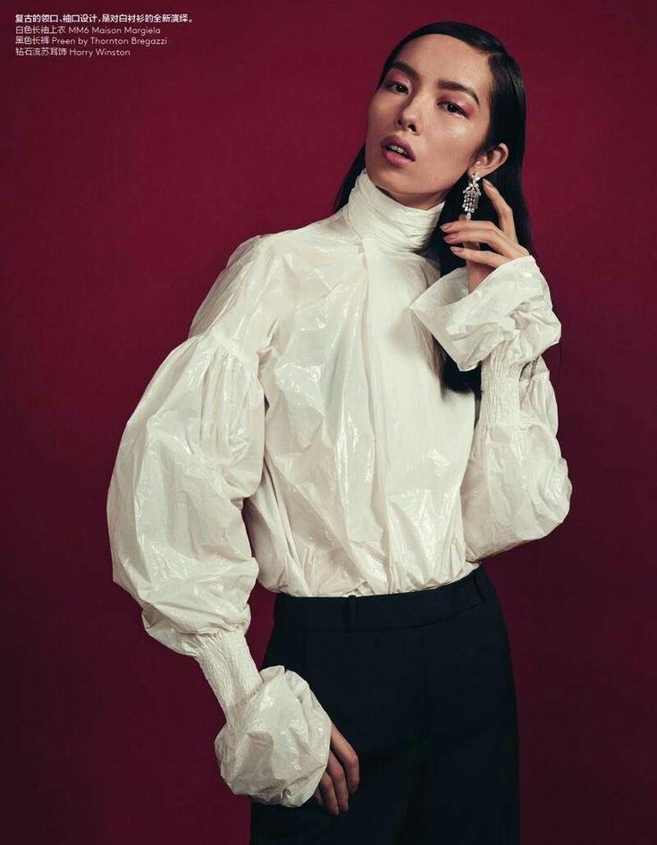 Fei Fei Sun - Vogue China Return To Form