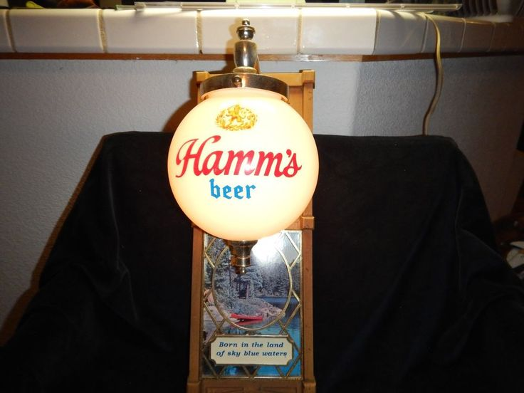 7 mejores imgenes de vintage bar lights en pinterest seales de vintage hamms beer electric light globe sign nature canoe scene wow aloadofball Image collections