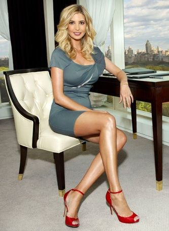 God, Ivanka Trump is so gorgeous.
