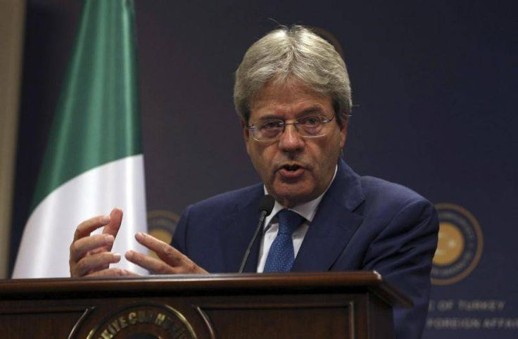 Italy seeking EU-Africa migration deal,Paolo Gentiloni,Italy,Turkey government, European Union, Greece government,International aggrement
