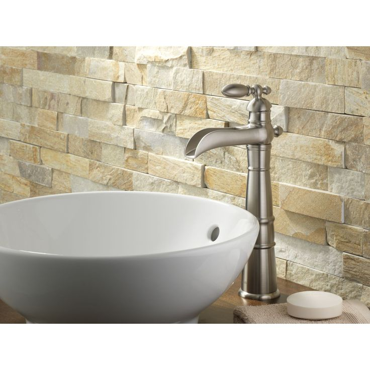 Best Master Bath Ideas Images On Pinterest Master Bathrooms - Waterfall faucet for bathroom sink for bathroom decor ideas