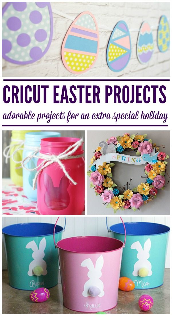 Sweet DIY Cricut Easter Projects – Juggling Act Mama – Lifestyle Blogger Ang Paris