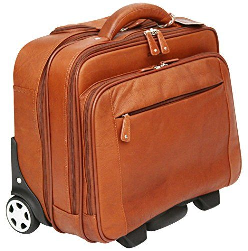 Cortez Genuine Leather Rolling Business Case – Rem…