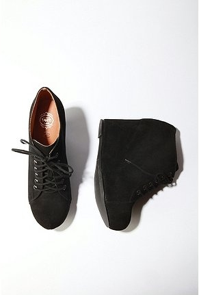 Jeffery Campbell lace up wedge $148. There is a reason why everyone has these shoes! They're fantastic!