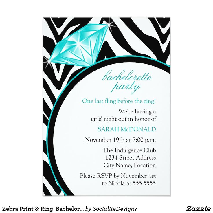 249 best Bachelorette Party Invitations images on Pinterest ...
