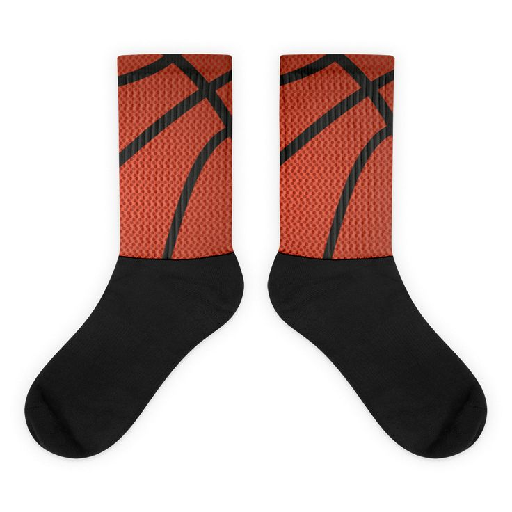 Bball Black foot socks