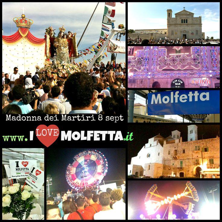 Molfetta - 8 september - the feast of the Madonna dei Martiri - great event www.ilovemolfetta.it