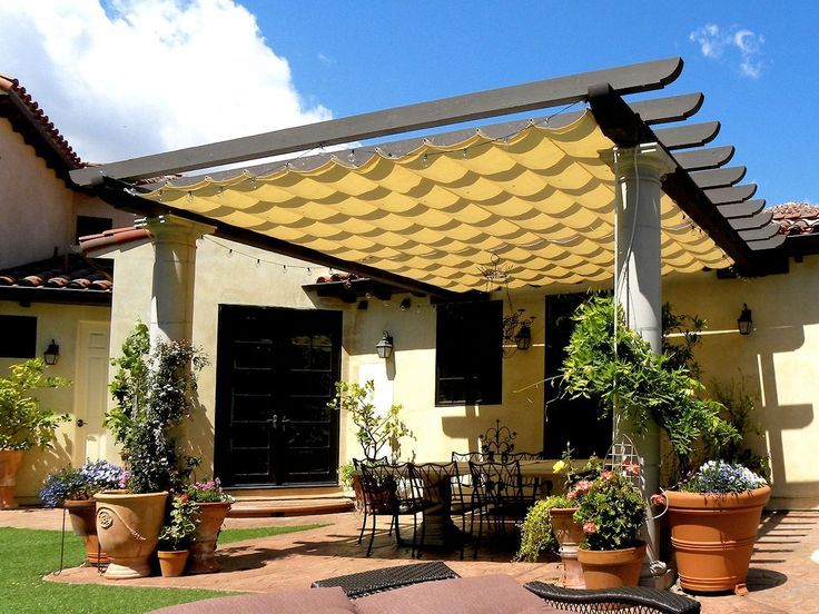 Patio Covers In Dozens Of Styles: Stationary Or Retractable. Slide Wire  Canopies, Shade Sail Covers, +more.