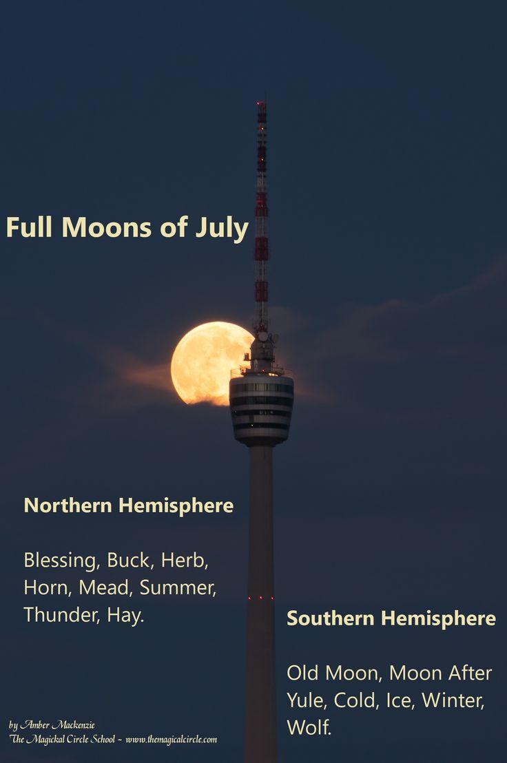 June Full Moon Names - Magic - Magick - Spells The Magical Circle School - www.themagicalcircle.net