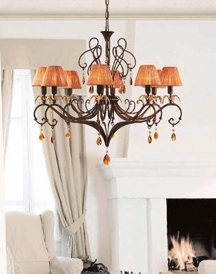 Oggi vi consigliamo i nostri lampadari in ferro battuto.  Scopriteli qui >> http://bit.ly/1MkZrGg
