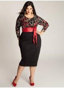 Make A Lasting Impression In This Elegant Bridgitte Plus Size Sweater Dress By Igigi You