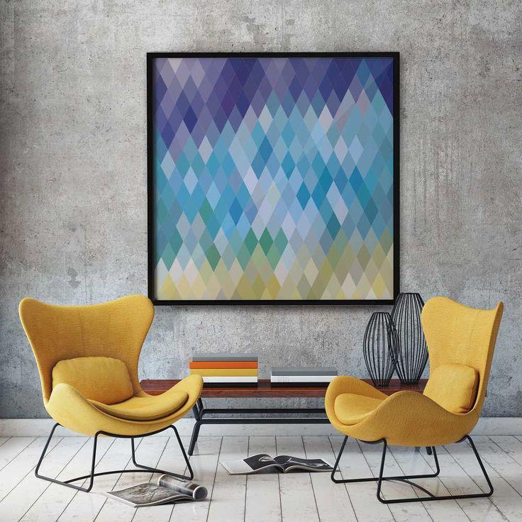 quadro decorativo geometrico