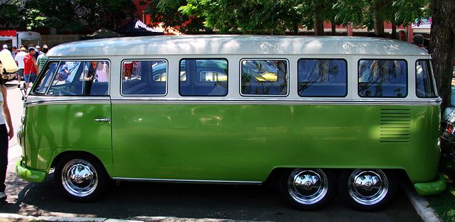 6 Wheeler, 17 Window, VW Kombi Bus by Gordon Calder